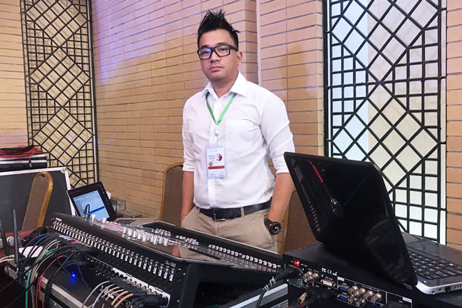 AES Myanmar Live Sound Engineering