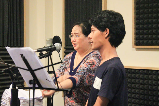 AES Myanmar Vocal Coaching