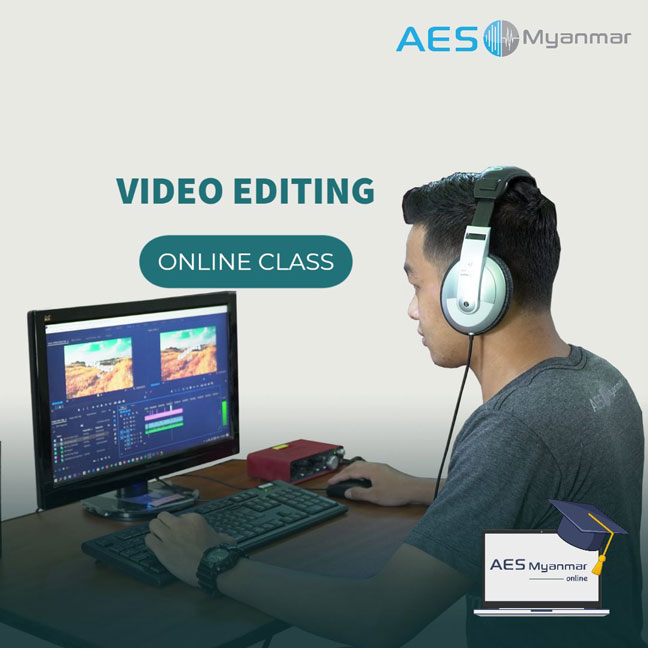 AES Myanmar Video Editing Online